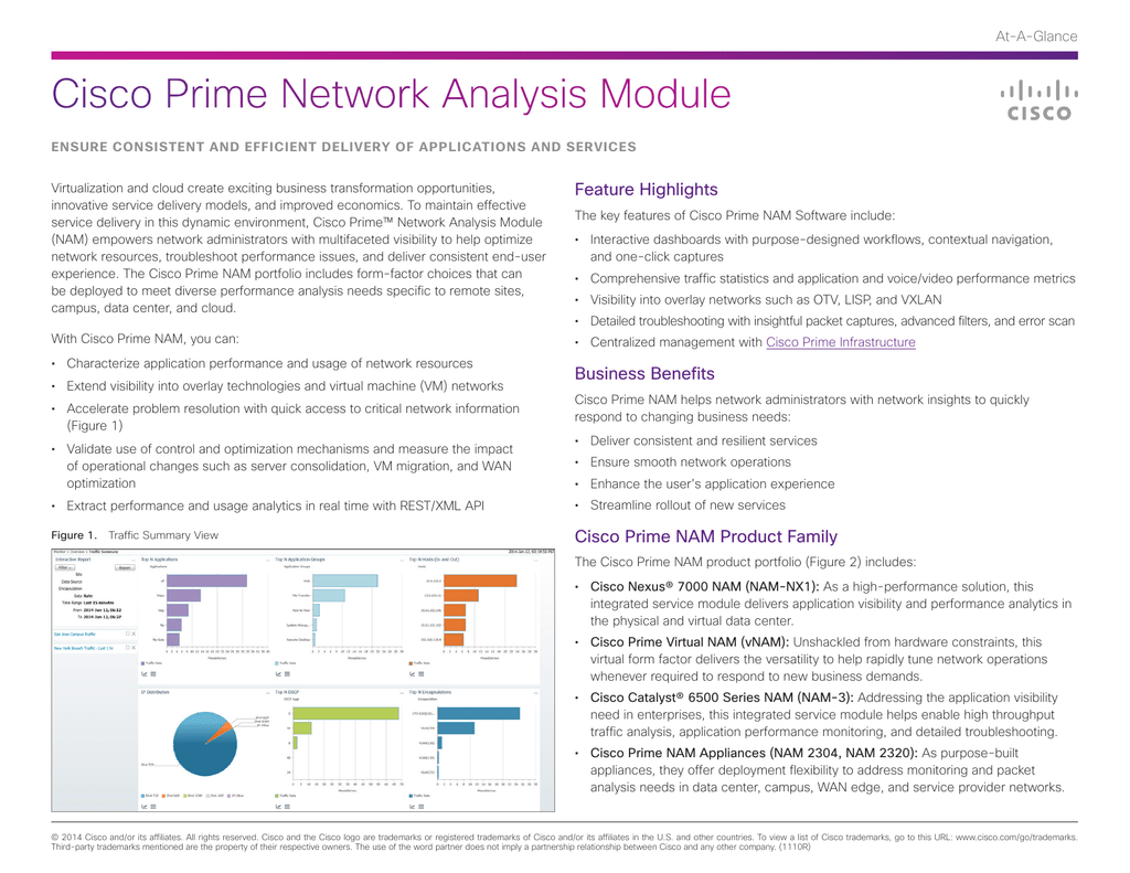 Cisco Prime Network Analysis Module Feature Highlights At-A