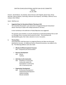 CRAFTON COUNCIL/EDUCATIONAL MASTER PLAN AD HOC COMMITTEE  Minutes  July 28, 2009