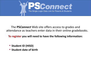 • Connect attendance as teachers enter data in their online gradebooks. To register