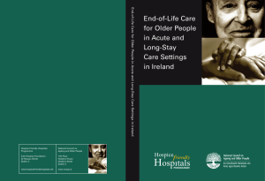 End-of-Life Care for Older People in Acute and Long-Stay