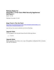 Release Notes for AsyncOS 7.7.0 for Cisco Web Security Appliances