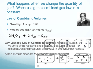 What happens when we change the quantity of constant. 