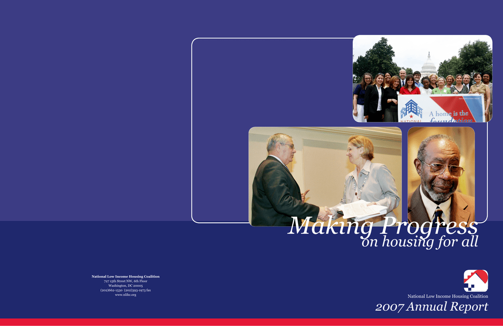 Fantastic Making Progress On Housing For All 2007 Annual Report Pabps2019 Chair Design Images Pabps2019Com