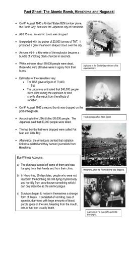 atomic bomb cons