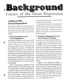An analysis of the causes of the great depression in america