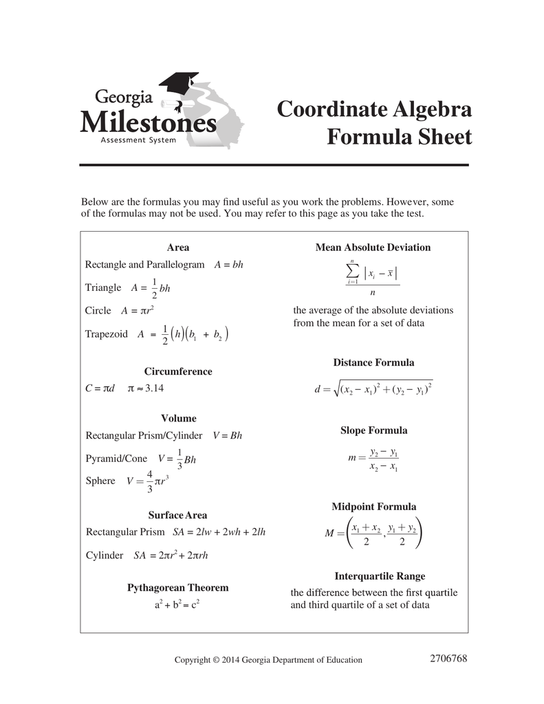 midterm fins2624 s1 2015 formula sheet Algebra 1 practice test answer key directions: for any problems, that you got wrong on the answer sheet, circle the number of the problem in the first column.