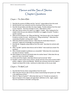 Haroun and the Sea of Stories Chapter Questions
