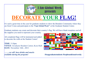 DECORATE YOUR FLAG!