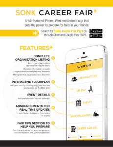 SONK + FEATURES A full-featured iPhone, iPad and Android app that