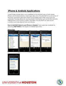 iPhone & Android Applications