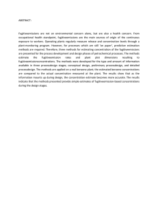 ABSTRACT:  Fugitiveemissions  are  not  an  environmental  concern...