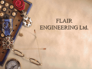 FLAIR ENGINEERING Ltd.