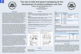 The role of child and parent mentalizing for the