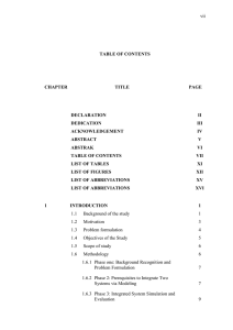 vii TABLE OF CONTENTS CHAPTER