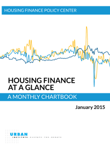 HOUSING FINANCE AT A GLANCE A MONTHLY CHARTBOOK January 2015