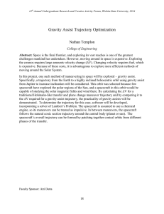Gravity Assist Trajectory Optimization Nathan Templon