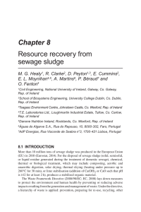Chapter 8 Resource recovery from sewage sludge M. G. Healy