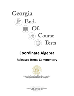 Coordinate algebra unit 4 test study guide Flashcards ...