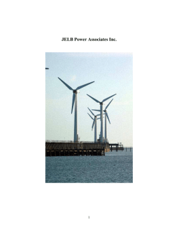JELB Power Associates Inc. 1