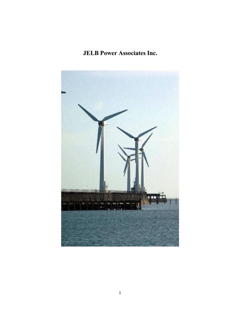 JELB Power Associates Inc  1