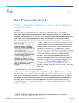 cisco prime infrastructure application download