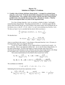 Physics 712 Solutions to Chapter 11 Problems