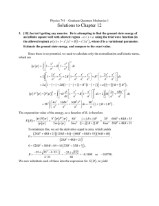 Solutions to Chapter 12