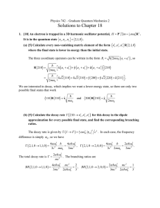 Solutions to Chapter 18 