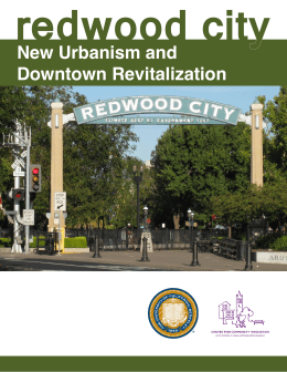 redwood city New Urbanism and Downtown Revitalization