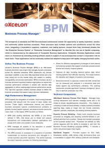 BPM Business Process Manager™