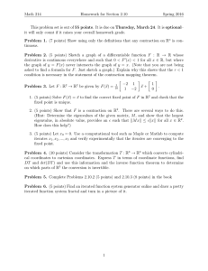 Math 214 Homework for Section 2.10 Spring 2016