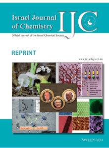 REPRINT Offi cial Journal of the Israel Chemical Society www.ijc.wiley-vch.de