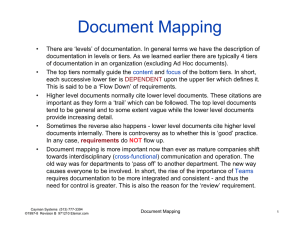 Document Mapping