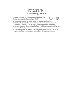 Homework Set 33 Due Wednesday, April 29 ( )