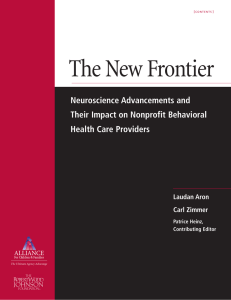 The New Frontier Neuroscience Advancements and Their Impact on Nonprofit Behavioral