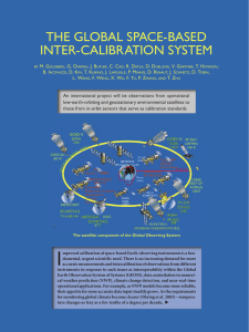 The Global Space-baSed InTer-calIbraTIon SySTem