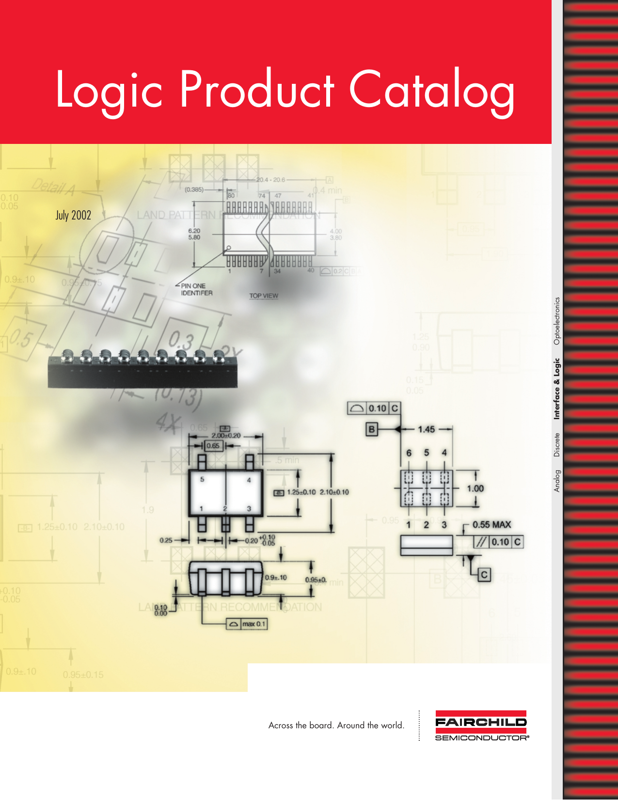 Logic Product Catalog July 2002 Across The Board Around World Seven Segment Display Circuit With 4511 Decoder And 4029 Optoelectronics