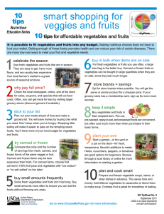 smart shopping for veggies and fruits  10