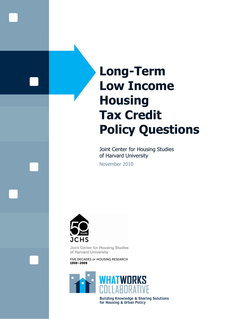 Long-Term Low Income Housing Tax Credit