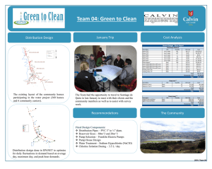 Team 04: Green to Clean Cost Analysis January Trip Distribution Design