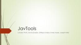 JavTools Landon Potts, David Dadzie, Ofiliojo Ichaba, Kwesi Asare, Joseph Kelly