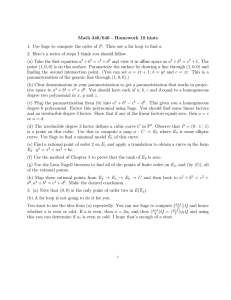Math 346/646 - Homework 10 hints