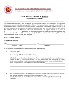 Form 200-2b – Affidavit of Resident ___________________________________________________________________