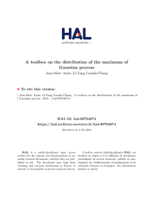 A toolbox on the distribution of the maximum of Gaussian process