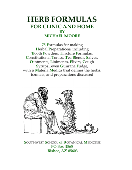 HERB FORMULAS FOR CLINIC AND HOME