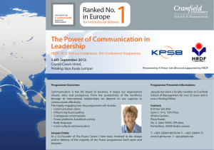 1 The Power of Communication in Leadership Ranked No.