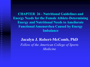 CHAPTER  26 - Nutritional Guidelines and