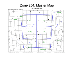 Zone 254, Master Map Normal View c f