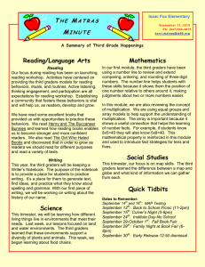 T M Reading/Language Arts
