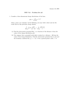 January 23, 2006 PHY 712 – Problem Set #5